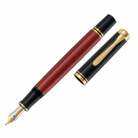 Pelikan Souverän M600 Fountain Pen black/red