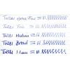 TWSBI Diamond mini AL writing sample