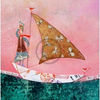 Arty Card Co Notelets - Sailor/The journey of a woodland