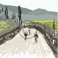 Arty Card Co Notelets - Eroica 2/Peleton 2