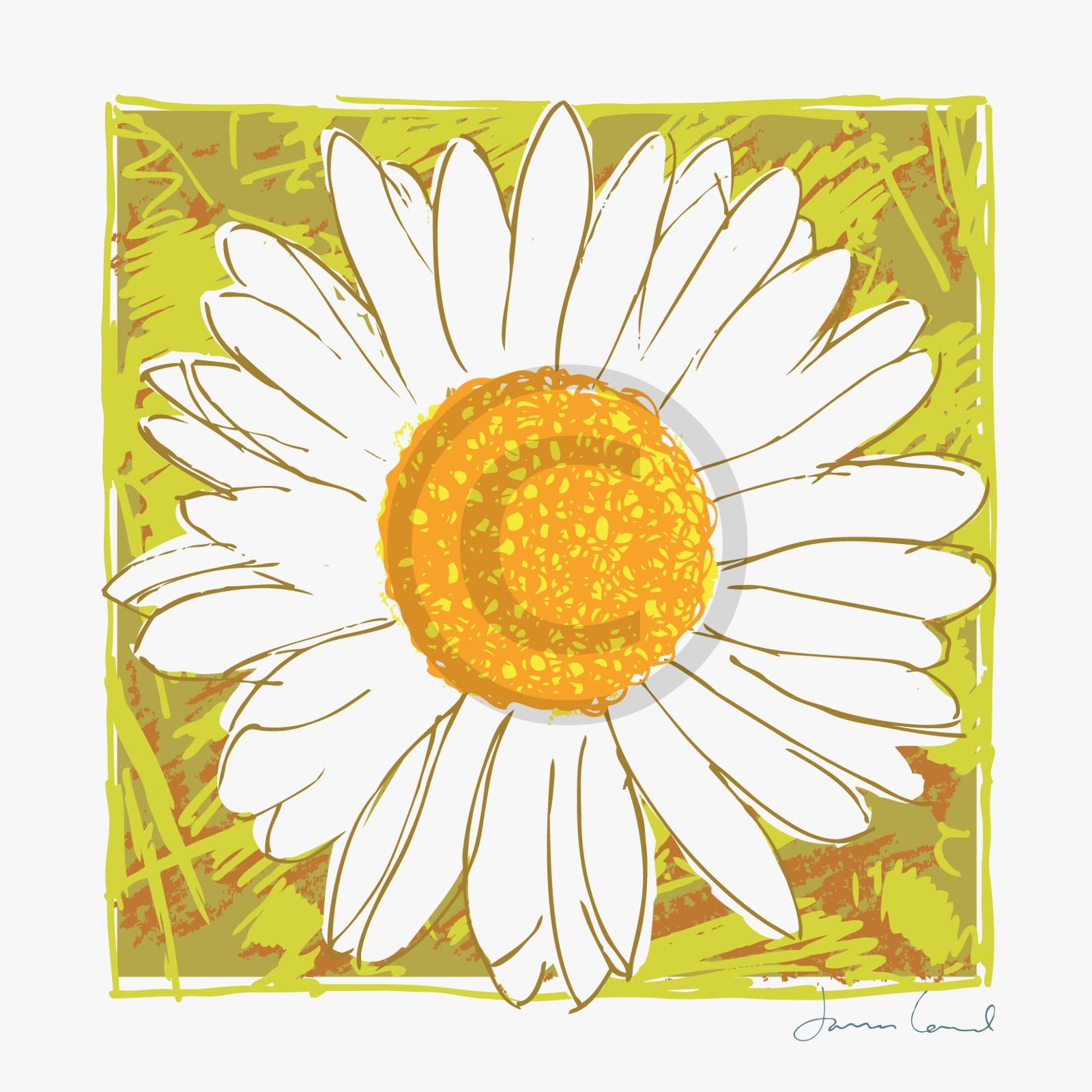 arty card co greetings card  sunflowers  the writing desk