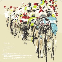Arty Card Co Greetings Card - Peleton