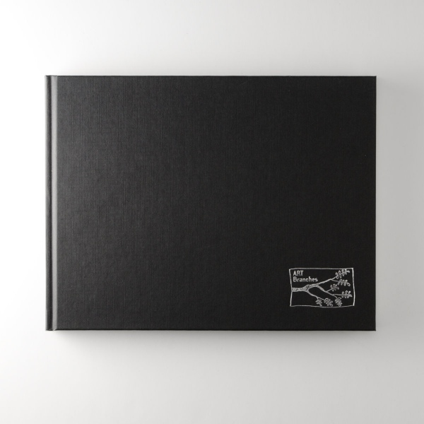Art Branches 19x25cm Cloth bound hard-back sketchbook