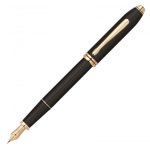 Cross Townsend Black Lacquer Fountain Pen