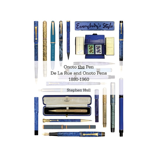 Onoto the pen book by Stephen Hull