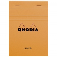 Rhodia 13600 A6 lined orange
