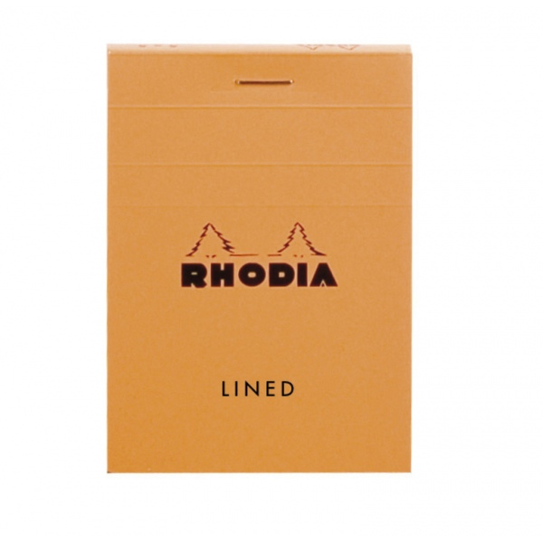 Rhodia 11600 A7 lined orange