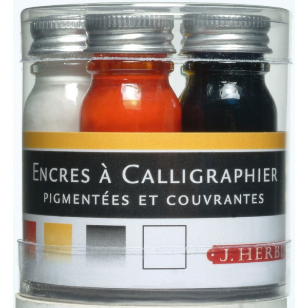 Herbin Calligraphy ink selection