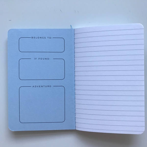 Darkstar Collection - Blue lined notebooks