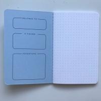 Darkstar Collection - Blue dot grid notebooks
