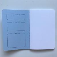 Darkstar Collection - Blue plain notebooks