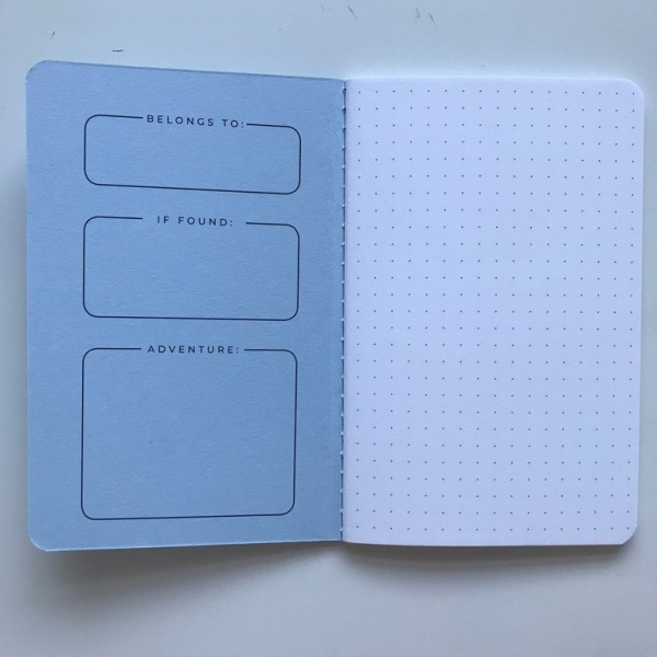 Darkstar Collection - Blue mixed notebook pack