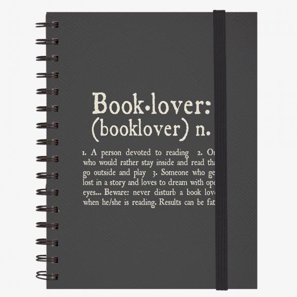 Legami Notebook A5 Wirebound Book Lover