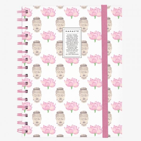 Legami Notebook A5 Wirebound Namaste