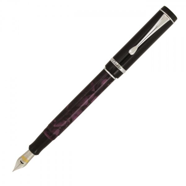 Conklin Duragraph Fountain Pen Purple Nights
