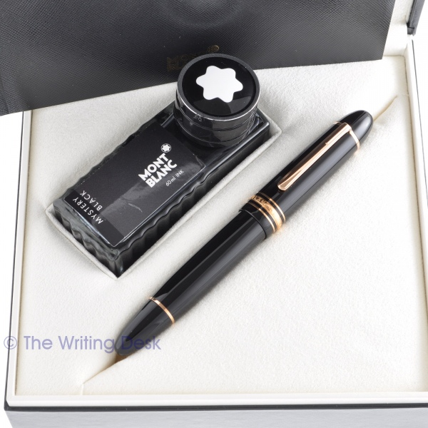 Montblanc 149 Fountain Pen Rose Gold in box