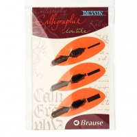 Brause set of 3 nibs - calligraphy