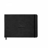 Rhodia WebNoteBook A5 black dot - landscape