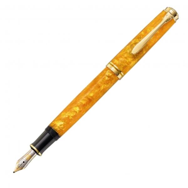 Pelikan M600 Fountain Pen Vibrant Orange