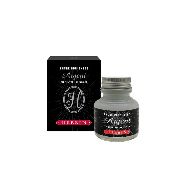 Herbin Decorative ink silver 30ml