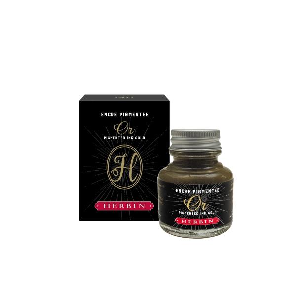 Herbin Decorative ink gold 30ml