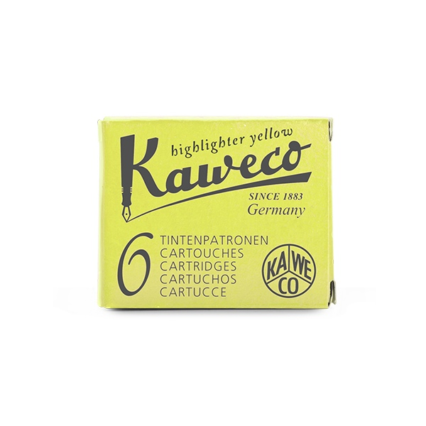 Kaweco cartridge Glowing Yellow