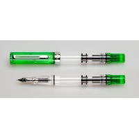 TWSBI Eco Fountain Pen - Transparent Green Special Edition