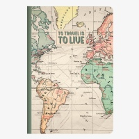 Legami Notebook A5 To travel is to Live