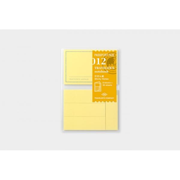 Travelers Company Passport Sticky Memo Pad 012