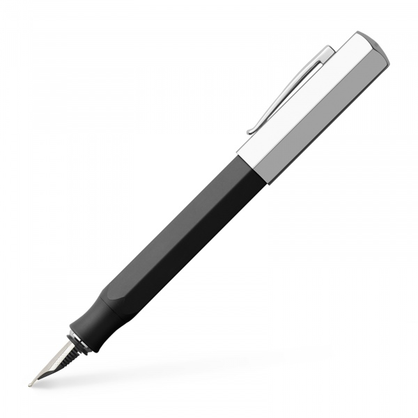 Faber Castelll Ondoro Fountain Pen Graphite Black