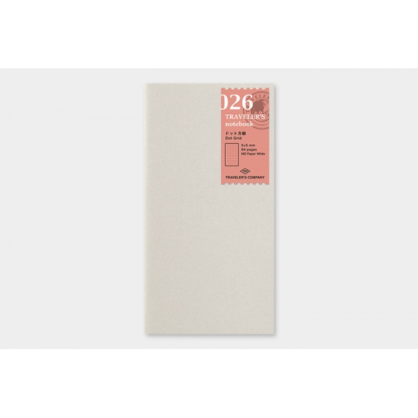 Traveler's Company MD Cream Paper notebook 025