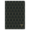 Clairefontaine Neo Deco lined A5 Ebony Black