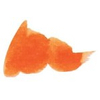 Caran d'Ache Electric Orange sample