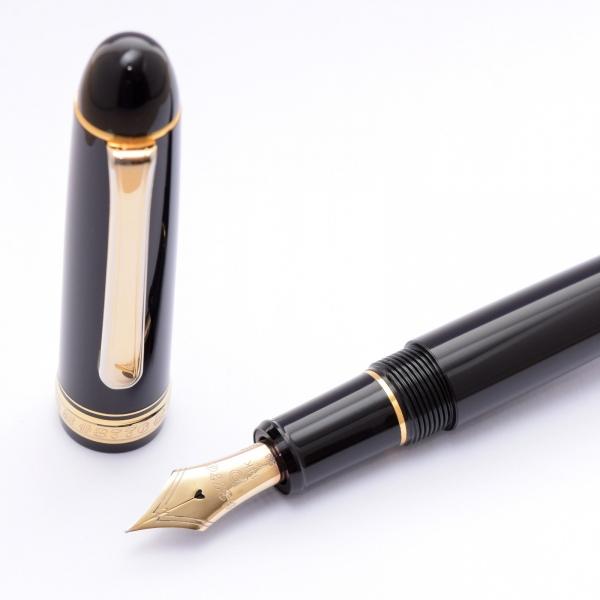 Platinum 3776 black fine (used)
