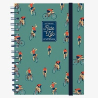 Legami Notebook A5 Wirebound Ride your Life