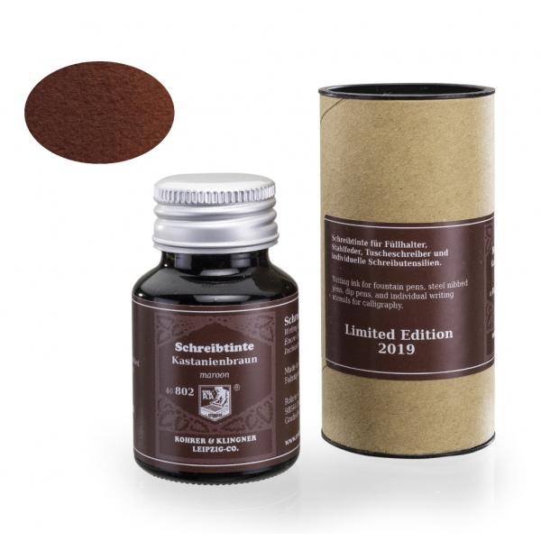 Rohrer & Klingner Kastanienbraun - Limited Edition 50ml