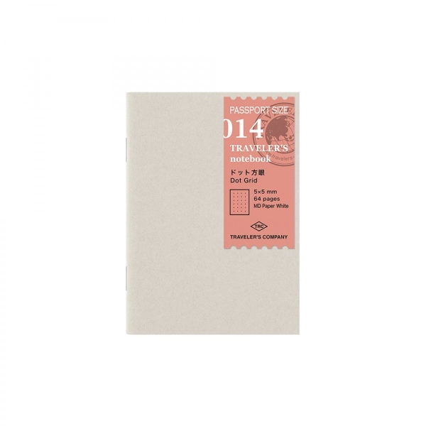 Traveler's Company Passport Dot Grid notebook MD 014