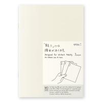 Midori MD Notebook A5 Light Plain- pack of 3