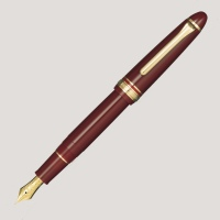 Sailor 1911 Standard Burgundy (gold trim) fountain pen 21k