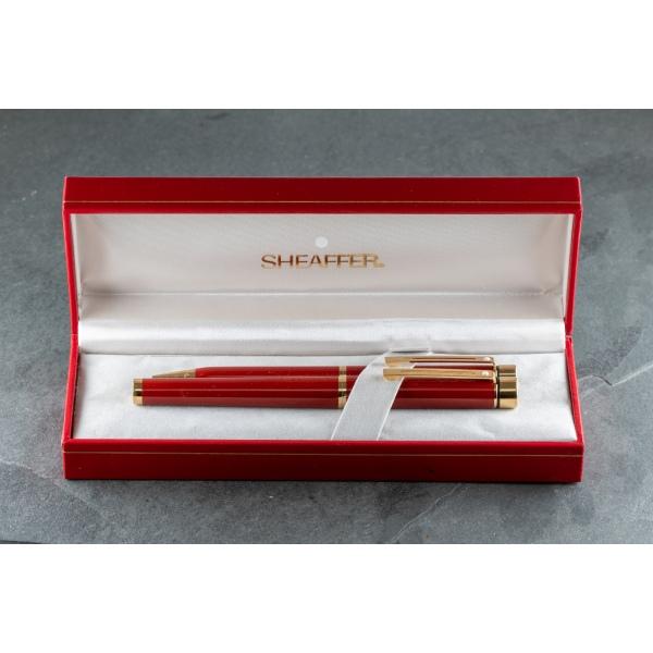 Sheaffer Targa 1030 Fountain Pen - Thuya Ronce Brown Marble Lacquer