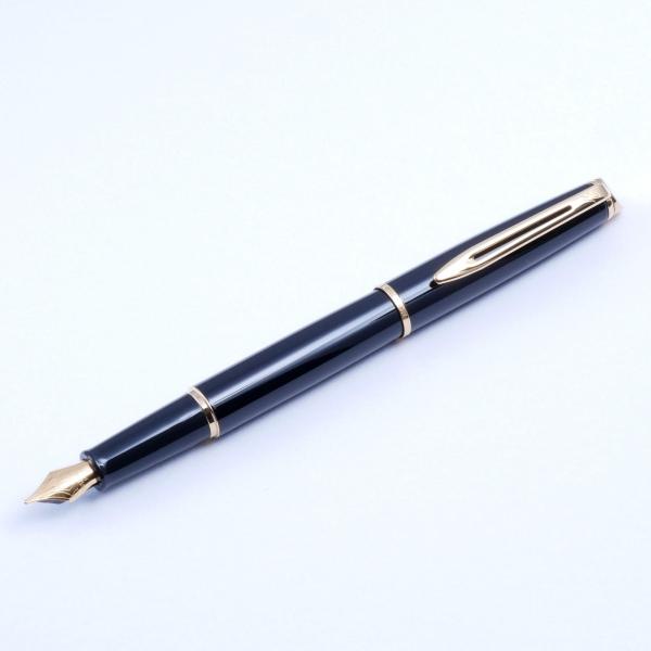 Waterman Hemisphere Fountain Pen - Black GT