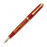 Pelikan Souverän M600 Fountain Pen Tortoiseshell-Red Special Edition