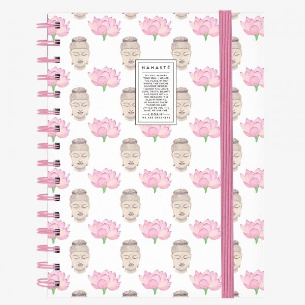 Legami Notebook A4 Wirebound Namaste
