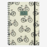 Legami Notebook A4 Wirebound Bike (faded)
