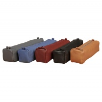 Clairefontaine Square leather pencil case