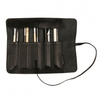 Clairefontaine Flying Spirit Black Leather Pencil Case Roll