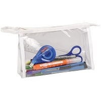 Clairefontaine Transparent Pencil Cases