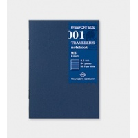 Traveler's Passport refills