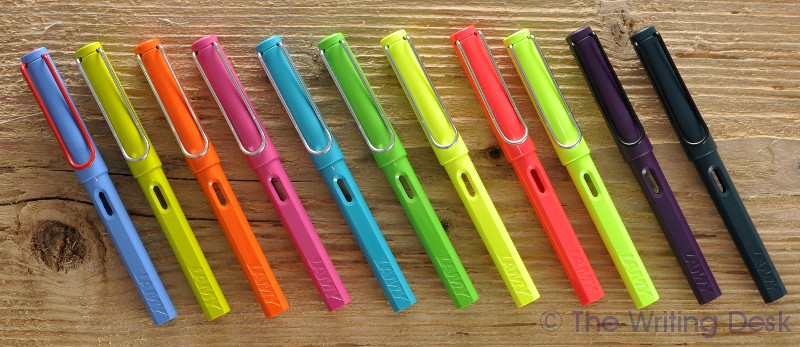 Lamy Safari special edition colors