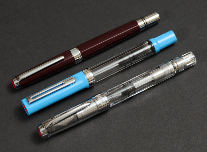 TWSBI Eco with TWSBI Diamond 580 and TWSBI Classic